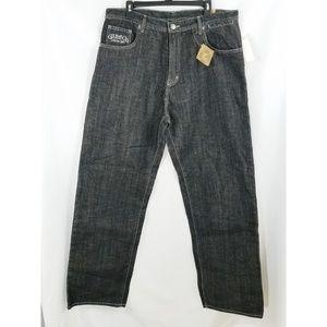 G-Unit Black League Denim Easy Fit Jeans 36×34
